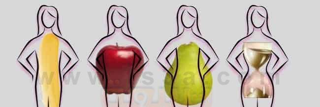 المعايير المتبعة لإختيار الملابس\شكل الجسم