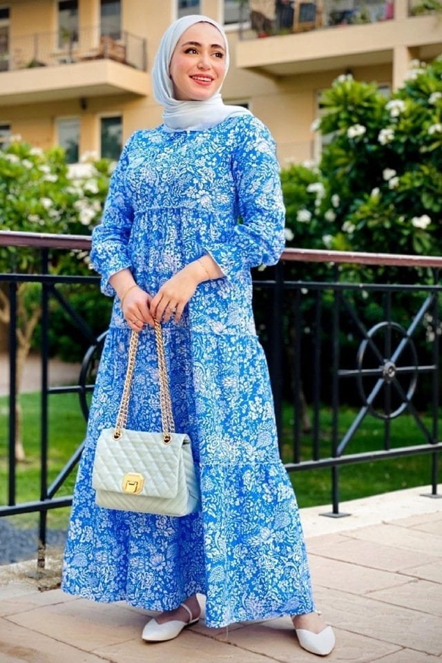 تنسيقات لملابس العيد مع فستان