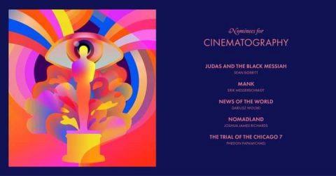 المرشحين لجائزة أفضل تصوير سينمائي